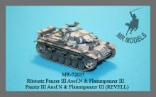 MR-72037  Panzer III /N/L/Flamm detail set