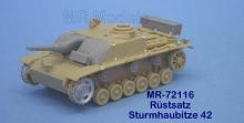 MR-72116 Sturmhaubitze 42 Rüstsatz u. Gepäck