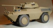 MR-87046 Fiat 6616 scout car 4x4 Italian Army