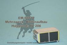 EM-90018  Mehrzweck - Kofferaufbau für Hägglunds BV 206