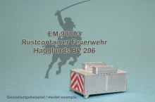 EM-90003  firefighter container for Hägglunds BV 206