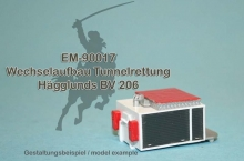 EM-90017  tunnel rescue body for Hägglunds BV 206