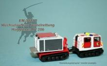 EM-90017  Wechselaufbau Tunnelrettung für Hägglunds BV 206