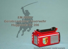 EM-90001  tool container firefighter Hägglunds BV 206