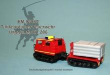 EM-90004  Tankcontainer Feuerwehr für Hägglunds BV 206