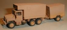 MR-87008 Eigenbaushelter US 2 1/2ton Truck M35 mit Anhänger