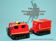 EM-90006  generator container for Hägglunds BV 206