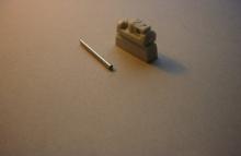 MR-35250 Matilda 2 CS gedrehtes Geschützrohr und Blende