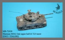 MR-72038  Sherman M4A1 späte Oberwanne m. T23 Turm