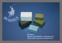 NEU !  MR-35413 Moderne Kunststoffkoffer und Behälter (Nr.2)