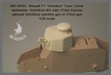 MR-35423 Renault Ft 17