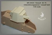 MR-35424 Renault BS 75 assault tank      (MENG)