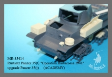 MR-35414 Rüstsatz Panzer 35(t) Operation Barbarossa 1941
