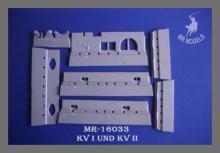 MR-16033 Zusatzpanzerung KW-1; Mod: 1941 Tamiya 1:16