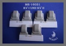 MR-16031 Winkelspiegelabdeckung KV-I und KV-II, genietet