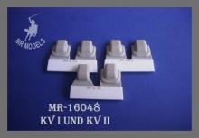 MR-16048 Winkelspiegelabdeckung KV-I und KV-II, geschweißt