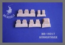 MR-16017 Winkelspiegel  für Tamiya Königstiger, 1:16