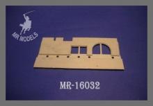MR-16032 Zusatzpanzerung KW-1, Mod. 1941, Fahrerfront  1:16