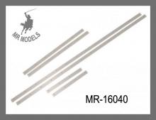 MR-16040 Halteschienen für Sandschilde  M4 Sherman 1:16