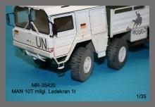 MR-35420 Ladekran für MAN 10t milgl.1t ( Revell )