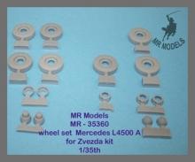 MR-35360 wheel set Mercedes MB 4500 S/A6 commercial road pattern