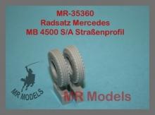 MR-35360 Radsatz Mercedes MB 4500 S/A Straßenprofil