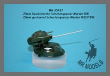 MR-35437 20mm Geschützrohr Schützenpanzer Marder Bundeswehr ( REVELL )