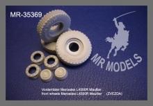 MR-35369 Vorderräder Mercedes L4500R Maultier    (ZVEZDA)