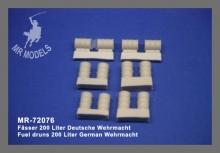 MR-72076 Fässer 200 Liter Deutsche Wehrmacht