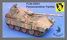 FCM-35001 Panzerzerstörer Panther mit 12,8cm Pak