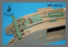 MR-35434 Mark IV Male Tank Beutepanzer mit Nordenfelt 57mm Kanonen