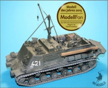MR-35366  Recovery Tank BTT-1 (ISU-T)   (FOR NEW TAMIYA KIT)