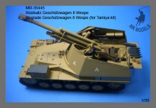 MR-35445 Upgrade Gesch�tzwagen II Wespe (for Tamiya kit)