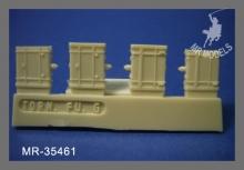 MR-35461 Funkgeräte Wehrmacht Set 1 enthält FuSprech f, Fu 2 , FU 5 mit Zubehör