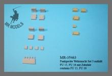 MR-35463 Funkgeräte Wehrmacht Set 3 enthält FU 15, FU 16 mit Zubehör