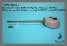 MR-35472  Geschützrohr 12,8cm L/42 für Pz.Kpf.Wg. VII Löwe und VK72.02    (AMUSING HOBBY)