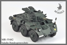 MR-35482   upgrade & gun barrel FV 601(D) Saladin   German Border Police   (DRAGON)