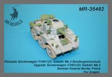 MR-35482 Rüstsatz und Geschützrohr FV 601(D) Saladin Bundesgrenzschutz  (DRAGON)