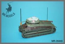 MR-35484 Rüstsatz und Geschützrohr Somua S 35 Französ. Armee     (TAMIYA)