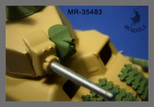 MR-38483  Rüstsatz und Geschützrohr Somua 35 S 739 (f) Wehrmacht   (TAMIYA)