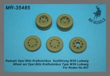 MR-35485 Radsatz Opel Blitz Kraftomnibus  Ausführung W39 Ludewig    (RODEN)