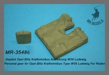 MR-35486 Gepäck Opel Blitz Kraftomnibus Ausführung W39 Ludewig