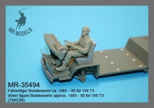 MR-35494  driver figure Bundeswehr approx. 1985 - 90 for VW T3      (TAKOM)