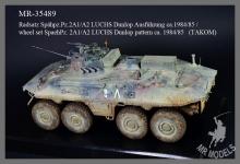 MR-35490 Geschützrohr und Balkankisten Spähpanzer 2A2 Luchs KOFOR   (TAKOM)