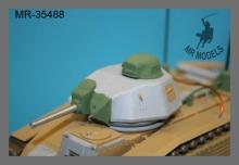 MR-35488  Geschützset und Rüstsatz Char B1 bis  (TAMIYA)