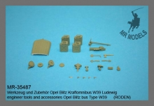 MR-35487   Pioneer tools and accessories for Opel Blitz Bus Ludewig W39    (RODEN)