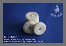 MR-35491  Radsatz #1 Horch 108 Typ 40 s.gl.E.Pkw.   (ICM)