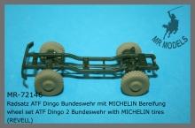 MR-72146 Radsatz ATF Dingo Bundeswehr mit MICHELIN Bereifung   (REVELL)