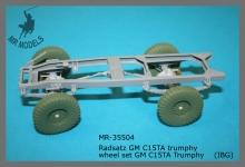 MR-35504 Radsatz GM C15TA trumphy   (IBG)