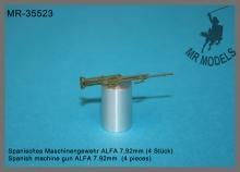 MR-35523  Spanisches Maschinengewehr ALFA 7,92mm (4 Stück)